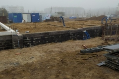ściany fundamentu szereg 3