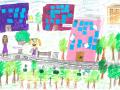 Dzieci dbają o osiedle